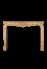 Klassische Französisch Marmor Stein Kaminmaske