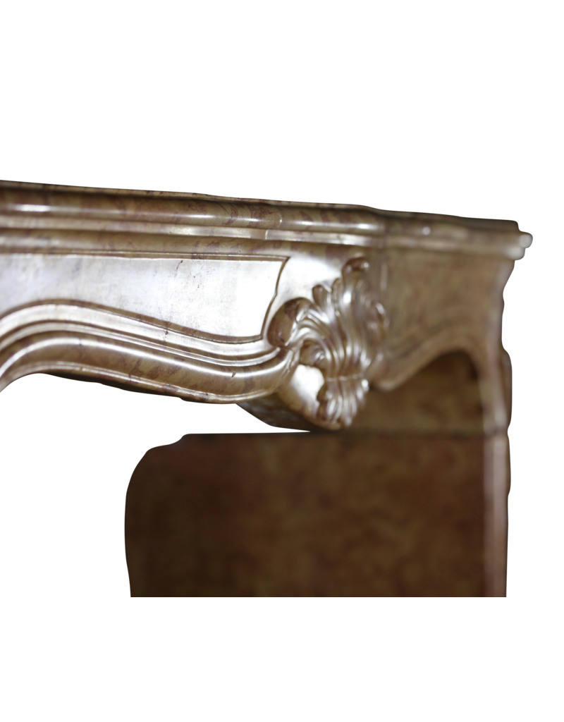 Classic French Marble Stone Fireplace Surround