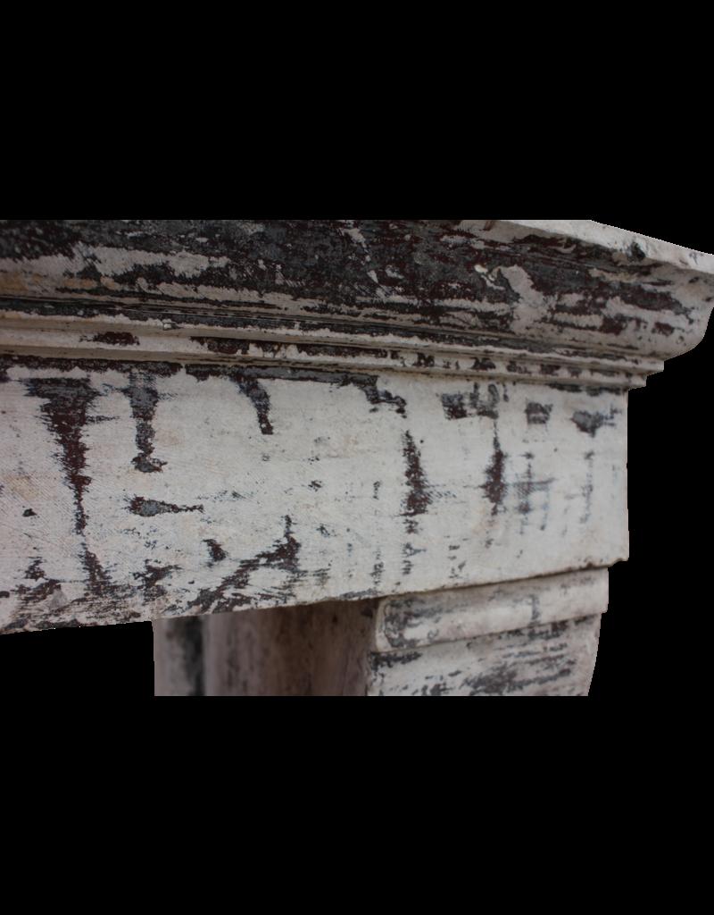 Antike Kalkstein Kamin im Französischem Landstil