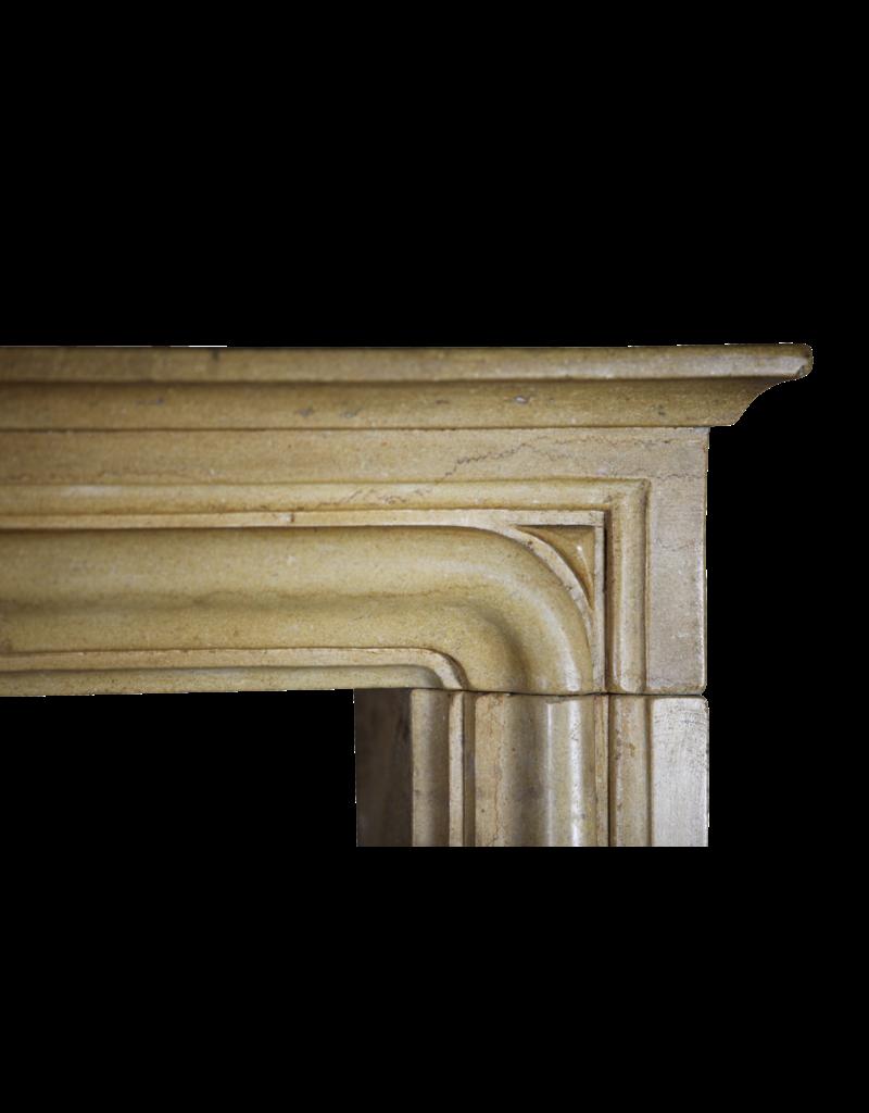 Vintage Französisch Kamin Verkleidung Im Kalkstein