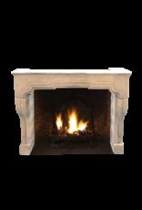 The Antique Fireplace Bank Klassisches Französisch Kalkstein Kaminmaske