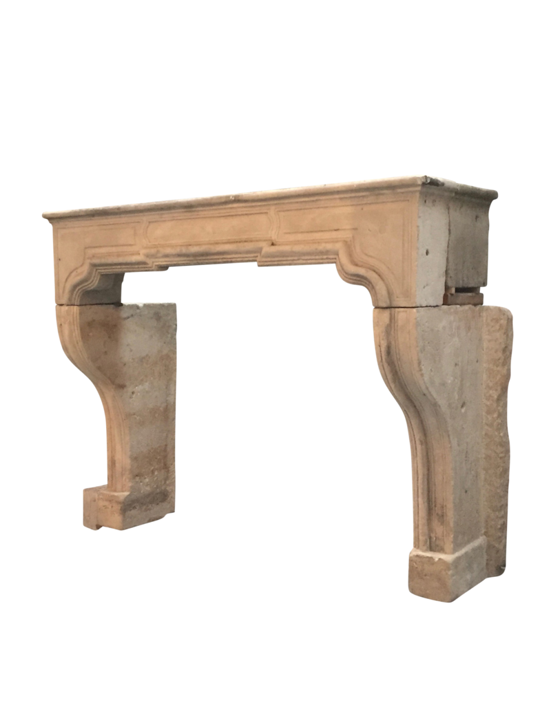 The Antique Fireplace Bank Classic French Limestone Fireplace Surround