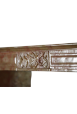 French Directoire Style Bicolor Fireplace Mantle
