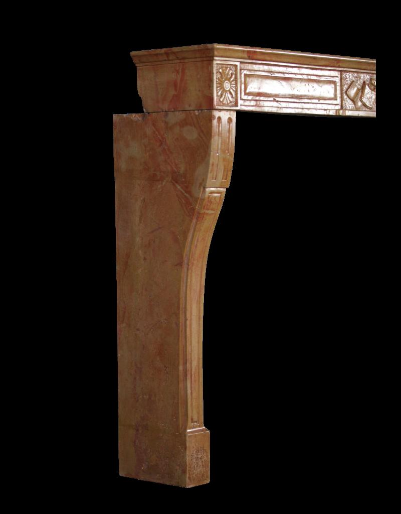 Französisch Directoire Stil Zweifarbig Kamin Verkleidung