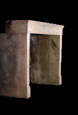 Klassisches Französisch Louis XVI Zeitraum Stein Kaminmaske