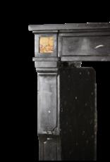 The Antique Fireplace Bank Feines Französisch Kamin In Der Dunklen Harten Stein