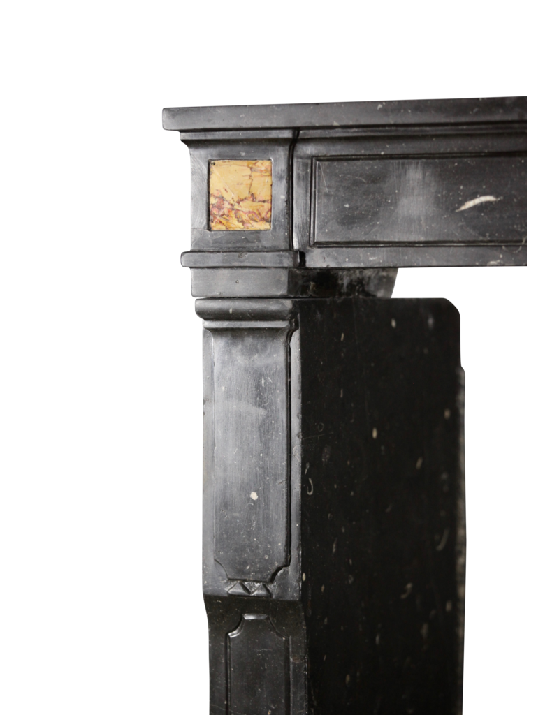 The Antique Fireplace Bank Fine French Fireplace In Dark Hard Stone