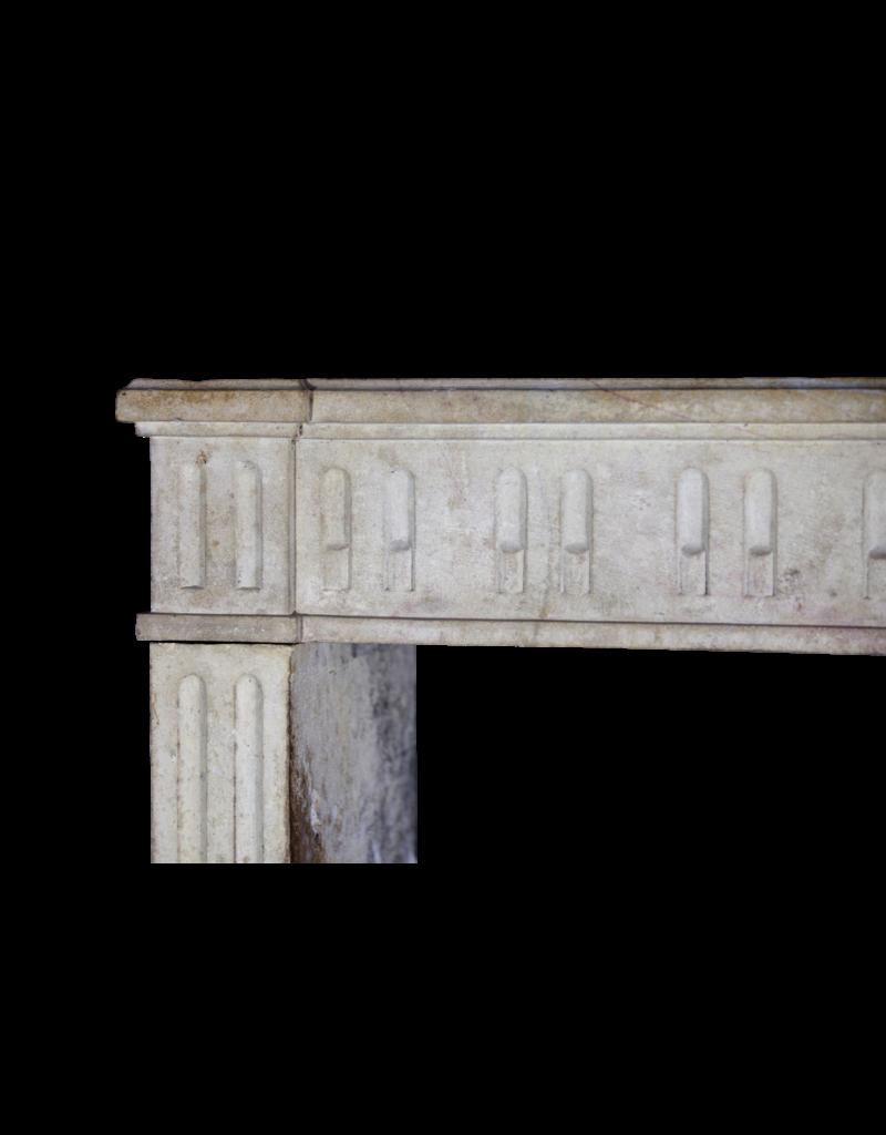 Clásico Duro Francesa Chimenea De Piedra Surround