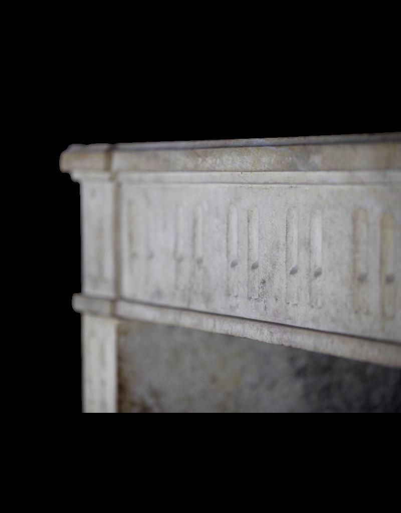 The Antique Fireplace Bank Clásico Duro Francesa Chimenea De Piedra Surround