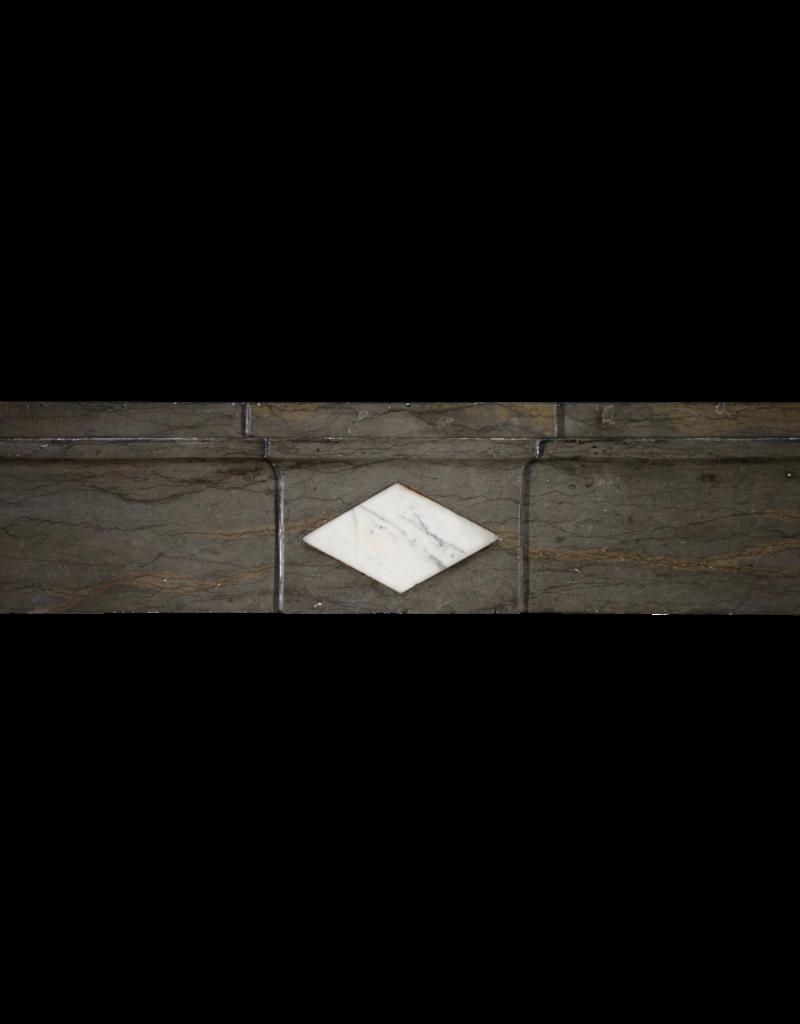 Clásica Francesa Bicolor Duro Chimenea De Piedra Surround