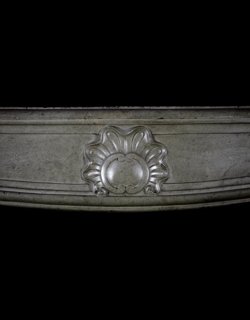Klassische Zweifarbig 18. Jahrhundert Französisch Jahrgang Kaminmaske