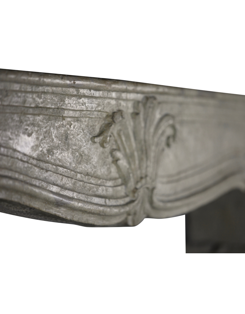 The Antique Fireplace Bank 18Th Century French Classic Limestone Fireplace Surround