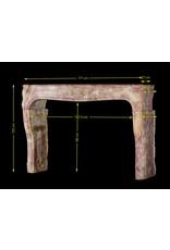 Maison Leon Van den Bogaert Antique Fireplaces & Vintage Architectural Elements Francés Borgoña Bicolor Chimenea De La Vendimia
