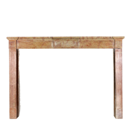 Fine French Directoire Style Stone Fireplace Surround