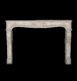 The Antique Fireplace Bank Elegante Clásica De Piedra Caliza Francesa Chimenea