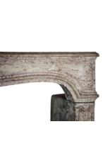The Antique Fireplace Bank Classic Elegant French Limestone Fireplace Surround