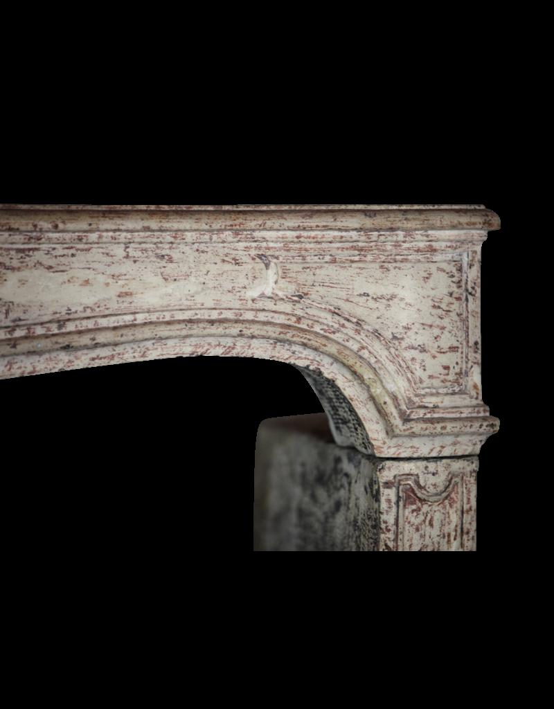 Classic Elegant French Limestone Fireplace Surround