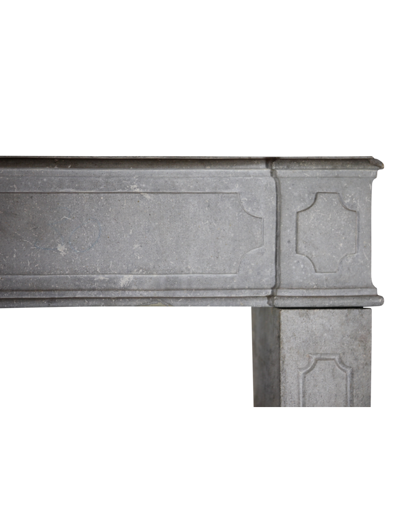 18Th Century French Fireplace Surround In Hard Stone