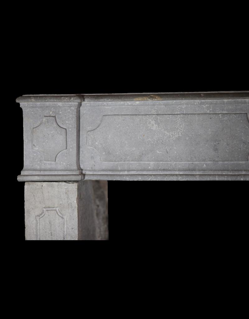 18. Jahrhundert Französisch Kaminmaske In Harten Stein