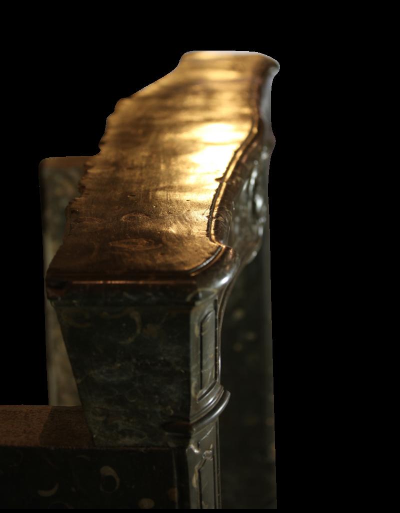 Feine Klassische Französisch Antike Marmor Kaminmaske