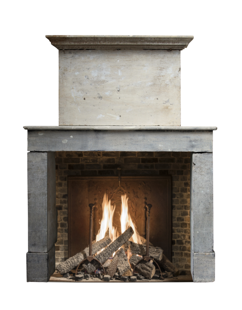 French Rustic Limestone Fireplace Surround The Antique Fireplace Bank