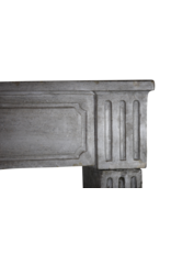 The Antique Fireplace Bank Classic French Bicolor Vintage Fireplace Surround