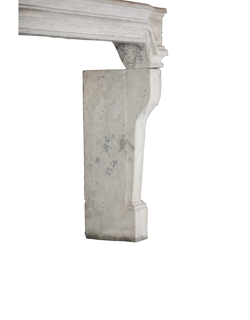 Gran Clásico Francés Del País De La Piedra Caliza Chimenea Surround