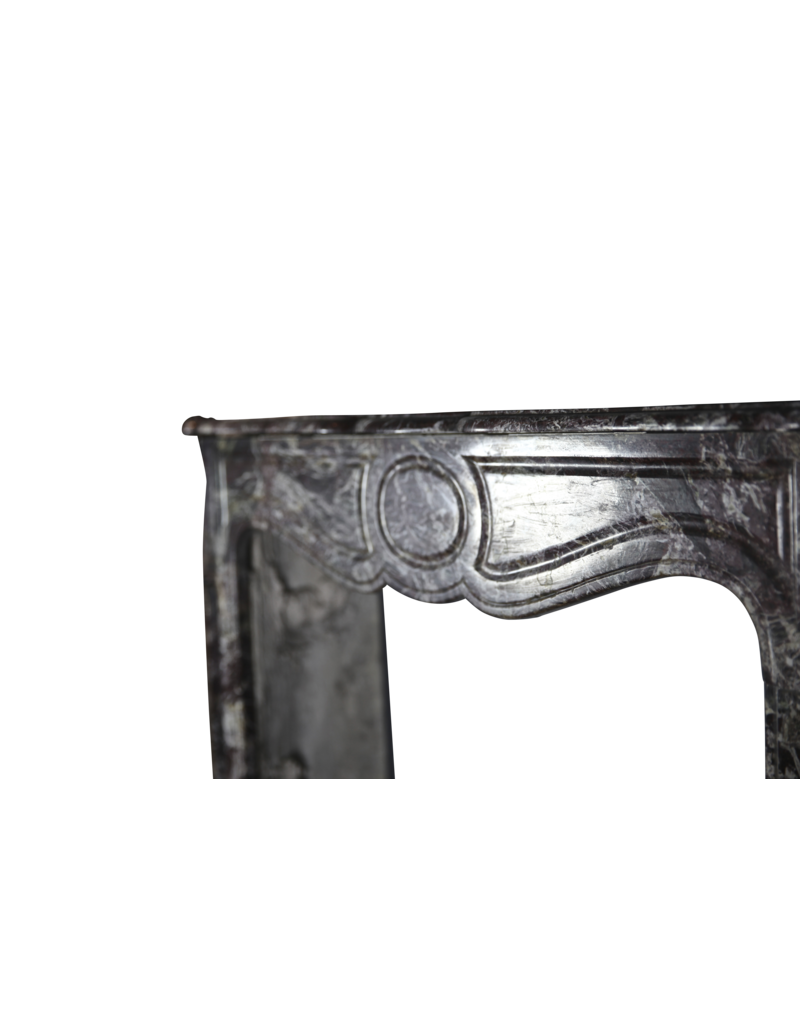The Antique Fireplace Bank French Pompadour Fireplace Surround For Corner