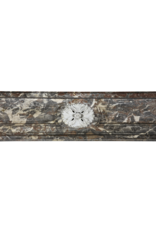 Classic Belgian Marble Antique Fireplace Surround