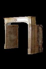 Chique Französisch Antike Stein Kaminmaske