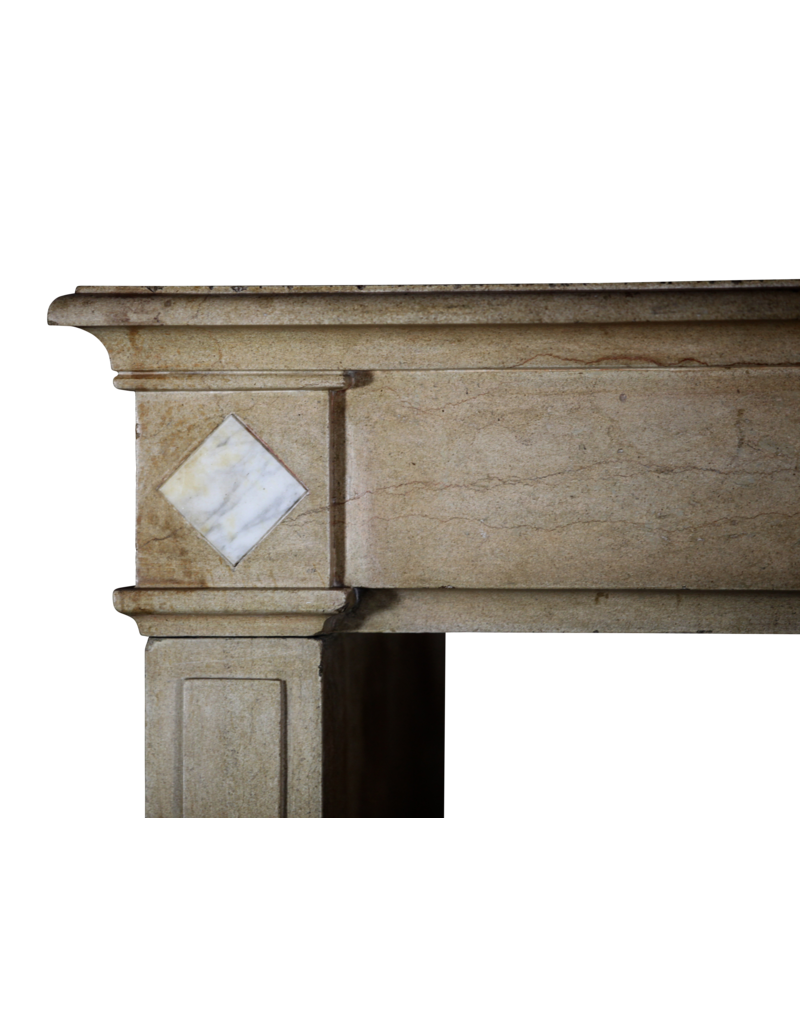 The Antique Fireplace Bank 18Th Century Fine French Fireplace Surround In Limestone