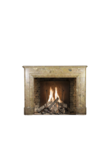 Classic Vintage Belgian Marble Fireplace Surround