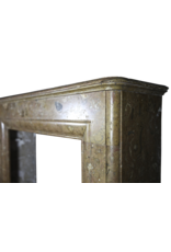The Antique Fireplace Bank Classic Vintage Belgian Marble Fireplace Surround