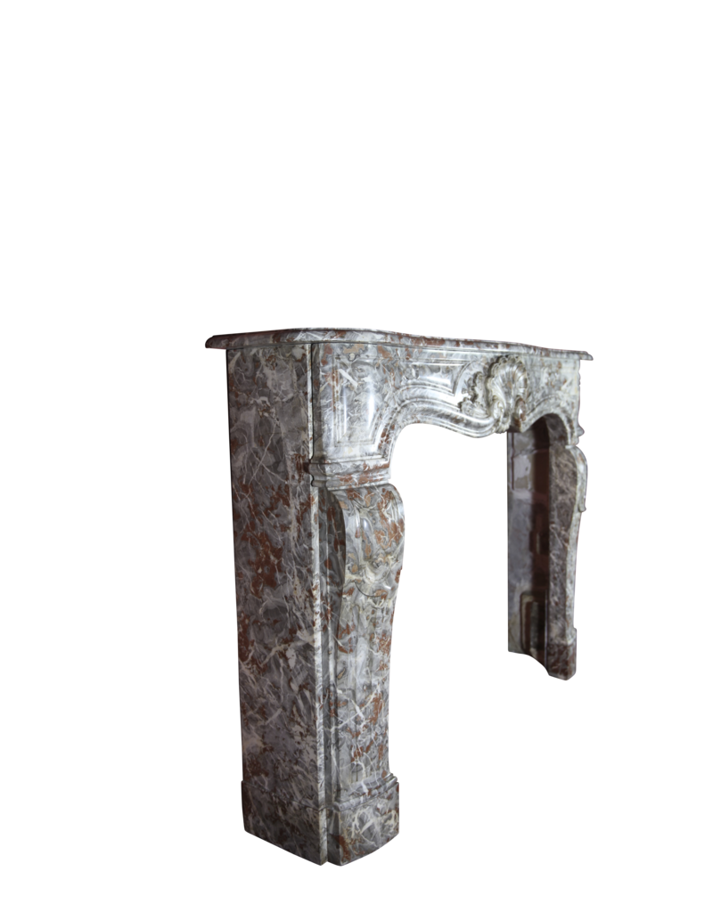 Belgische Jahrgang Marmor Kaminmaske