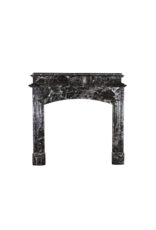 Grand Belgian Antique Fireplace Surround