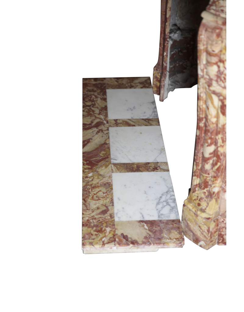 Rich Französisch Pompadour Stil Jahrgang Kamin