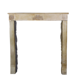 French Delicate Vintage Fireplace Surround