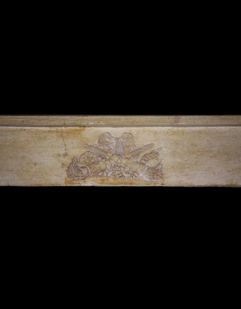 The Antique Fireplace Bank Delicada Francés Antiguo Chimenea
