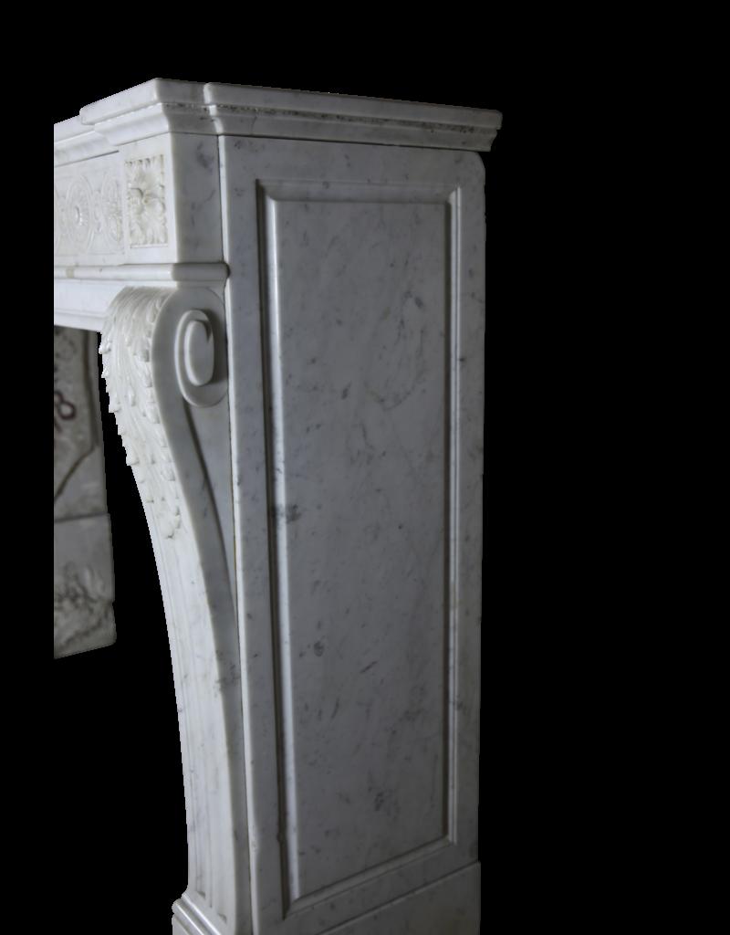 Klassische Französisch Marmor Kaminmaske