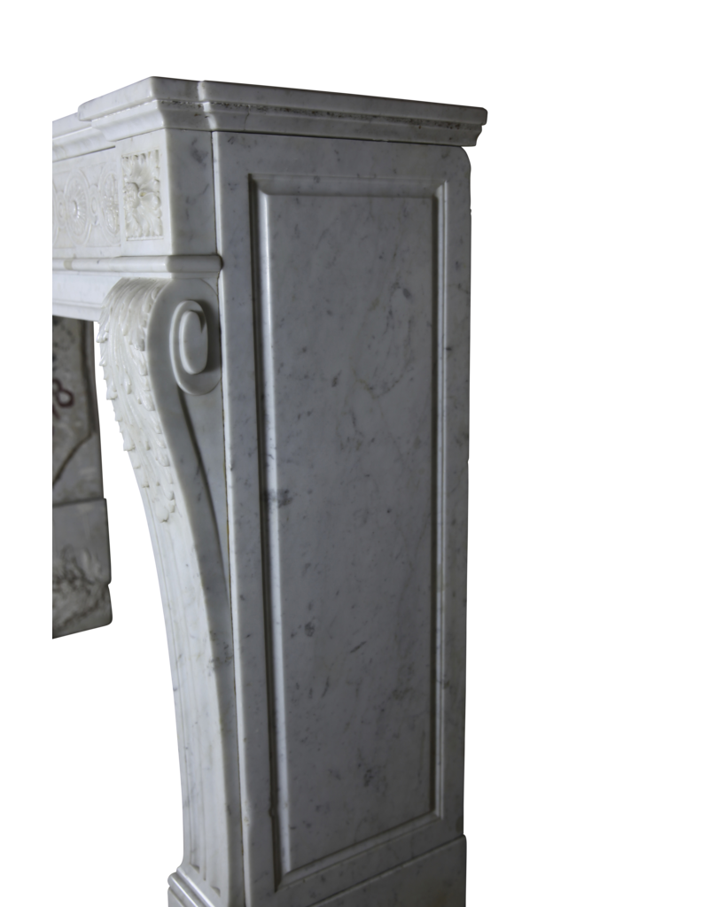 The Antique Fireplace Bank Classic French Marble Fireplace Surround