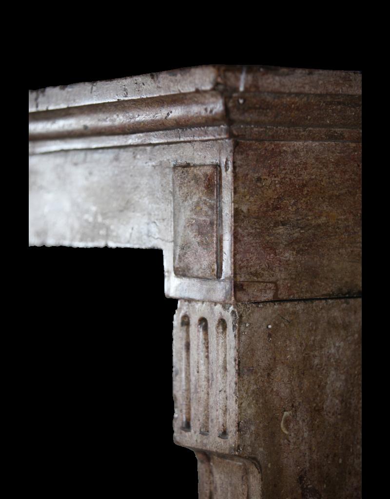 Chique Antiguo Chimenea De Piedra Surround