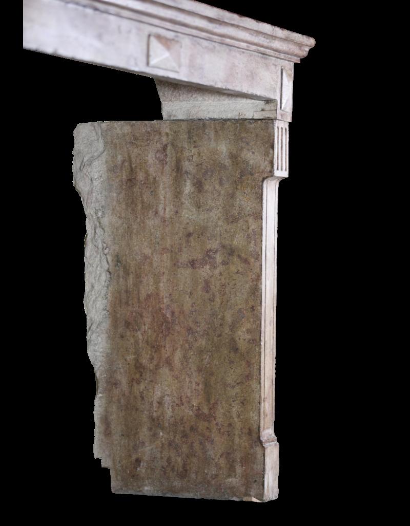 Chique Antike Stein Kaminmaske