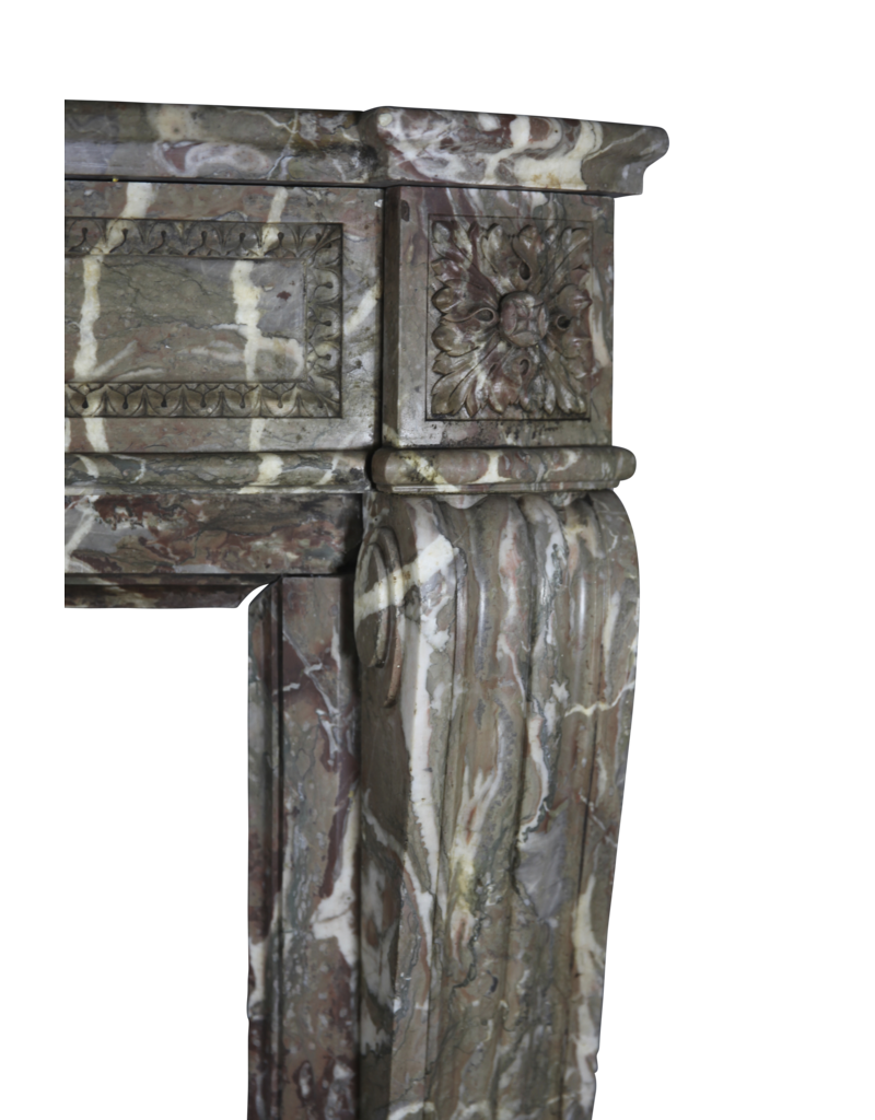 The Antique Fireplace Bank Belgian 19Th Century Fireplace Surround