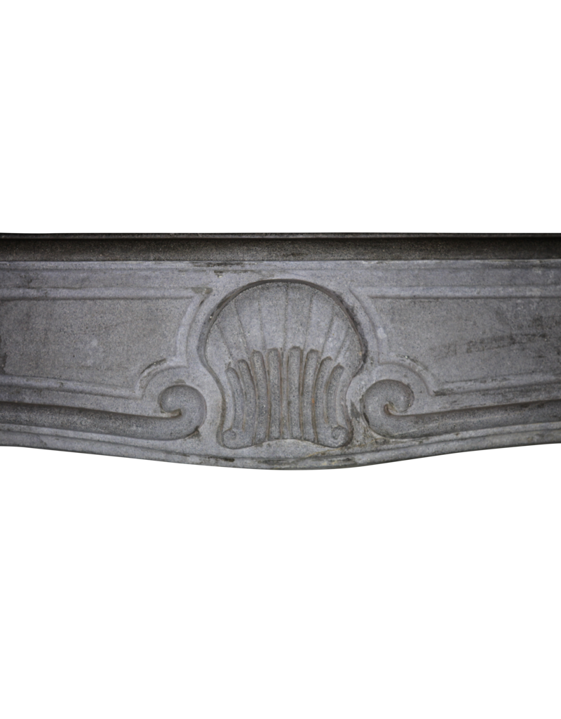 The Antique Fireplace Bank Dark Stone Francés Chimenea De La Vendimia