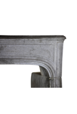 The Antique Fireplace Bank French Dark Stone Vintage Fireplace Surround