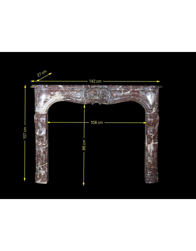 Feine Belgische Antike Kaminmaske