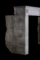 Groß Französisch Vintage-Stein Kamin Verkleidung