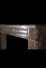 The Antique Fireplace Bank Extra Wide Brown Belgischen Marmor Jahrgang Kaminmaske