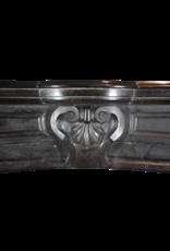 Black Belgian Marble Decorative Fireplace Surround