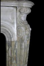 Klassische Französisch Marmor Kamin Maske